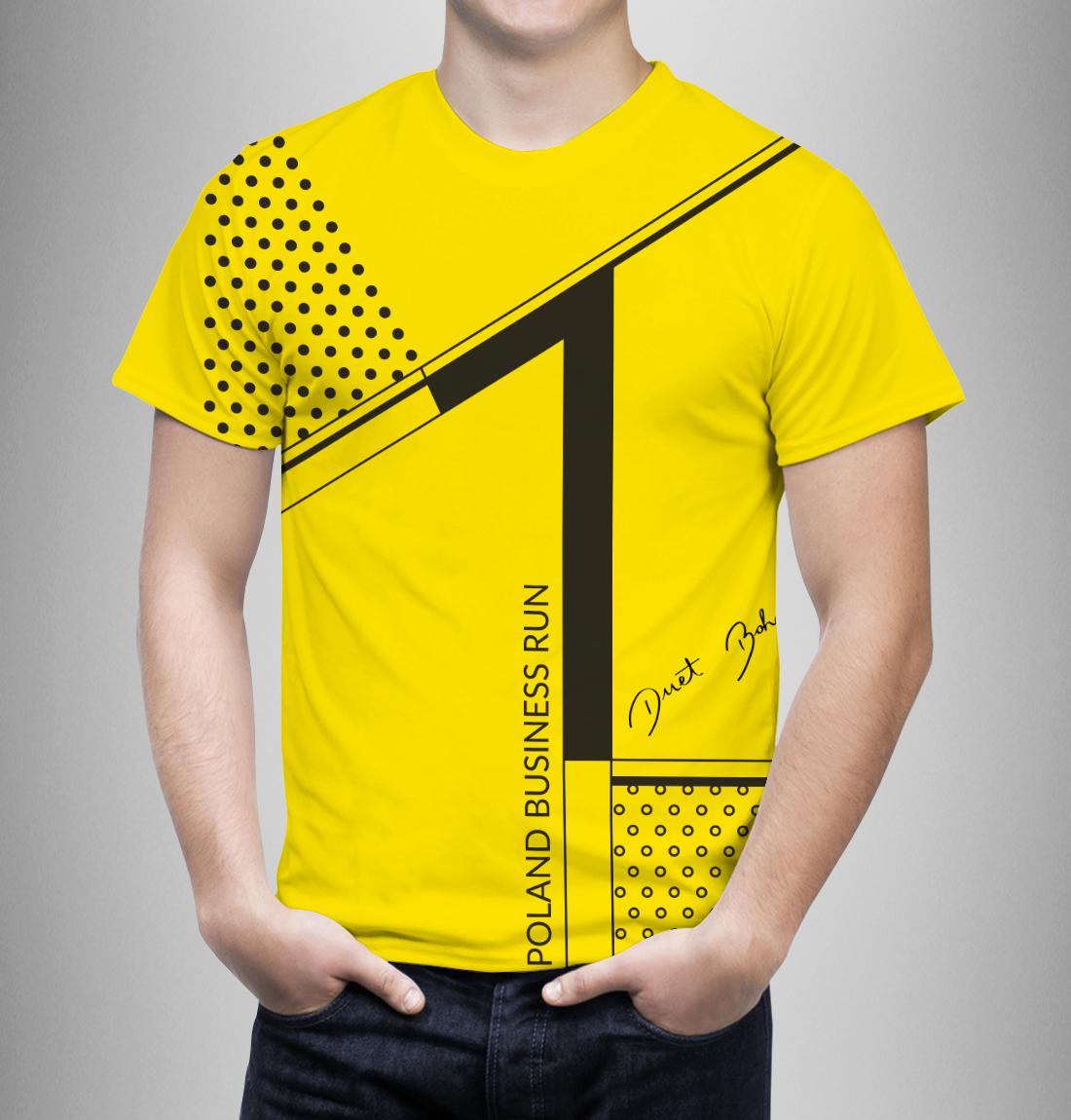 żółta koszulka PBR