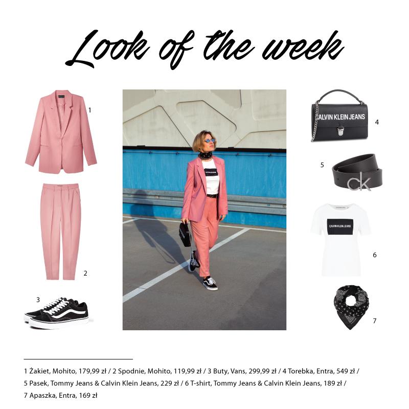 899f0ebd53 Look of the week -pastelowy garnitur - Fashion Time
